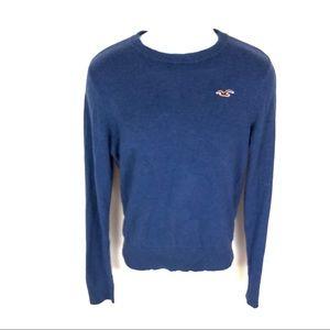 Hollister Men's Blue Sweater S